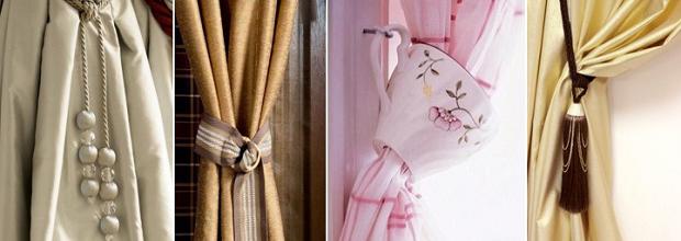 Отделочно-декоративные аксессуары для штор