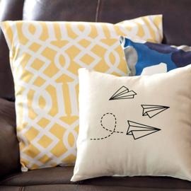 Декоративные подушки и чехлы